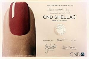 Heather Hoy CND Certified